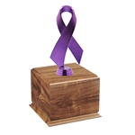 Purple Awareness Ribbon Perpetual Award
