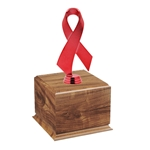 Red Awareness Ribbon Perpetual Award