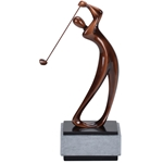 Golf Male Modern Trophy