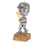 Female Softball Bobblehead Trophies with Face