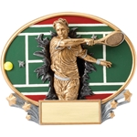 Tennis Male XPlosion Oval Trophies