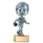 Bowling Bobblehead Trophies with Face