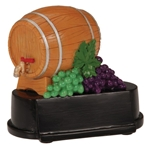 Wine Barrel Trophy
