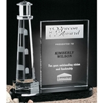 Journey Point Lighthouse Crystal Awards