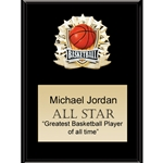 Basketball All Star Plaques
