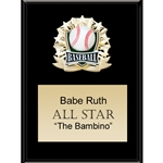 Baseball All Star Plaques