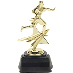 Flag Football Star Figure Trophy