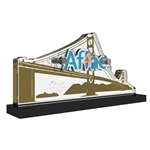 Aflac Bay Area Custom Logo Trophy