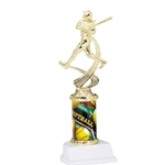 Softball Sports Motion Column Trophies