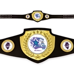 Custom Champion Award Belts Shield Series