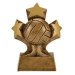 Volleyball Tri Star Trophies