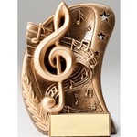 Music Curve Series Trophies