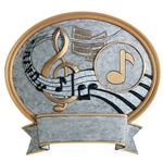Music Legend Plaque Trophies
