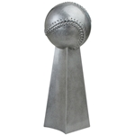 Baseball Champion Pedestal Resin Awards