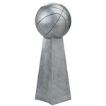 Basketball Champion Pedestal Resin Awards