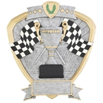 Racing Flag Shield Trophies