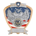 Army Military Shield Trophies