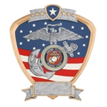 Marines Military Shield Trophies
