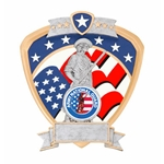 National Guard Military Shield Trophies