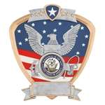 Navy Military Shield Trophies