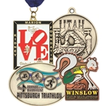 "Custom Die Cast Medals 2"" Size"