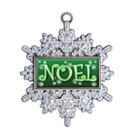 Snowflake Custom Holiday Ornament