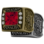 Finalist Ring with your choice of gem stone