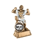 Mud Run Monster Trophies