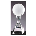 Basketball Crystal Trophies
