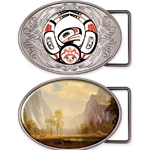 Custom Oval Belt Buckle
