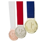 1st, 2nd, & 3rd Olympic Style Medals Bundle