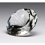Crystal Diamond Paperweight Awards