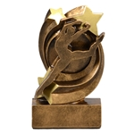 Dance Star Swirl Trophies