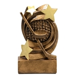 Hockey Star Swirl Trophies