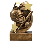 Softball Star Swirl Trophies
