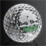 Clipped Golf Ball