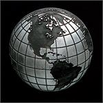 Globe Pewter Accent