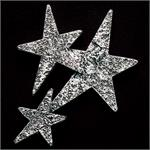 Star Cluster Pewter Accent