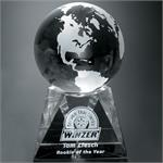 Triad Globe Crystal Award