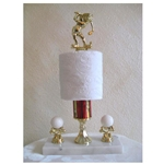 Golf Toilet Paper Trophy