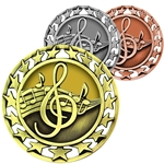 Music Star Medallions