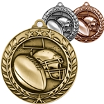 Football Wreath Medals
