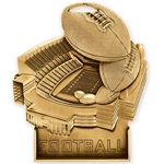 Football Stand-Up Medallions