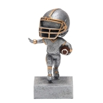 Football No Face Bobblehead Trophies