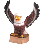 Eagle Mascot Bobblehead Trophies