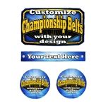 Custom Award Belt Inserts