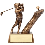 Comic Golfer Trophies