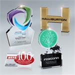 "Lasercut Lucite Awards 3/4"" Thick (up to 33 square inches)"