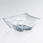Artistic Skewed Glass Bowl Award