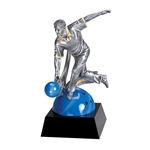 Male Bowling Motion Extreme Trophies